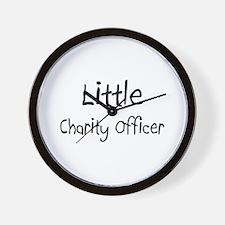 Little Charity Officer Wall Clock