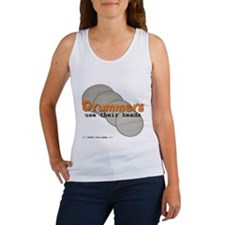Drummers Use Their Heads Women's Tank Top