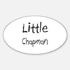 Little Chapman Oval Decal