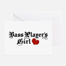 Bass Player's Girl Greeting Cards (Pk of 10)