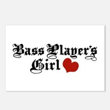Bass Player's Girl Postcards (Package of 8)