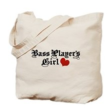 Bass Player's Girl Tote Bag