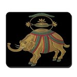 Decorative Elephant Mousepad