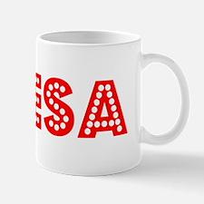 Retro Odesa (Red) Mug