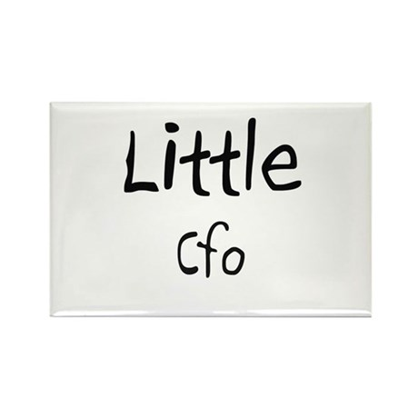 Little Cfo Rectangle Magnet