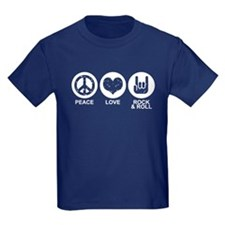 Peace Love Rock and Roll T