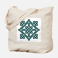 Tote Bag Celtic Knot Green