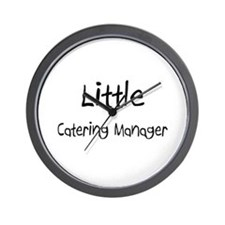 Little Catering Manager Wall Clock
