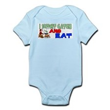 Support catch and eat Infant Bodysuit