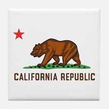 California Republic Tile Coaster