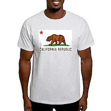 California Republic Ash Grey T-Shirt