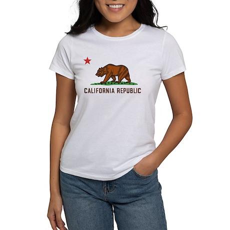 california republic ash grey s classic white t shirt