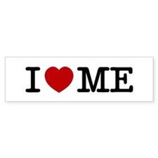 I LOVE ME --- RIFFRAFFTEES.COM Bumper Sticker