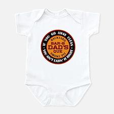 Dad's Backyard Bar-b-que Pit Infant Bodysuit