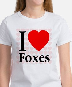 I Love Foxes Tee