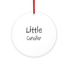 Little Canaller Ornament (Round)
