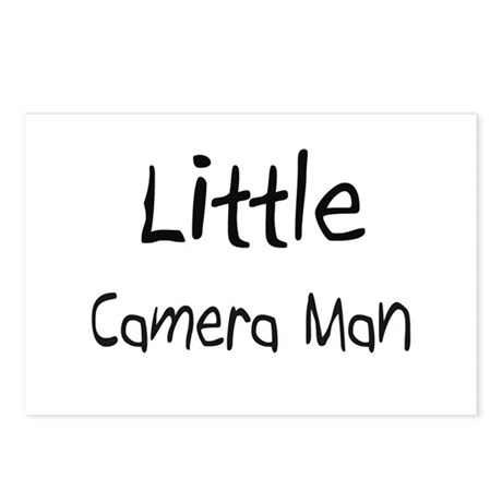 Little Camera Man Postcards (Package of 8)