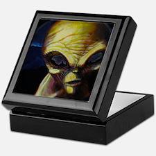Alien/Angel Keepsake Box
