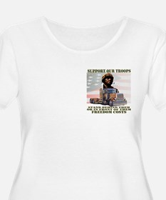 Truckers Support Our Troops T-Shirt