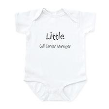 Little Call Center Manager Infant Bodysuit