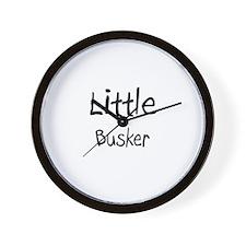Little Busker Wall Clock