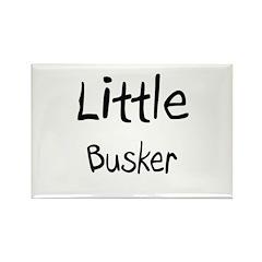 Little Busker Rectangle Magnet