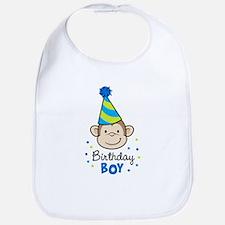 Birthday Boy - Monkey Bib