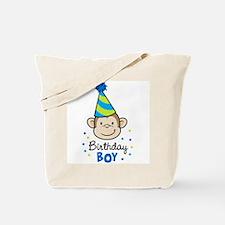 Birthday Boy - Monkey Tote Bag