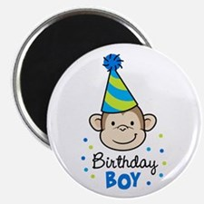 Birthday Boy - Monkey Magnet