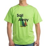 TOP Sail Away Green T-Shirt