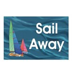 TOP Sail Away Postcards (Package of 8)