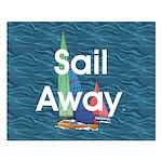 TOP Sail Away Small Poster