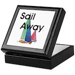 TOP Sail Away Keepsake Box