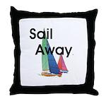 TOP Sail Away Throw Pillow