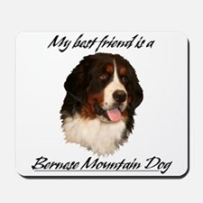 Bernese Best Friend Mousepad