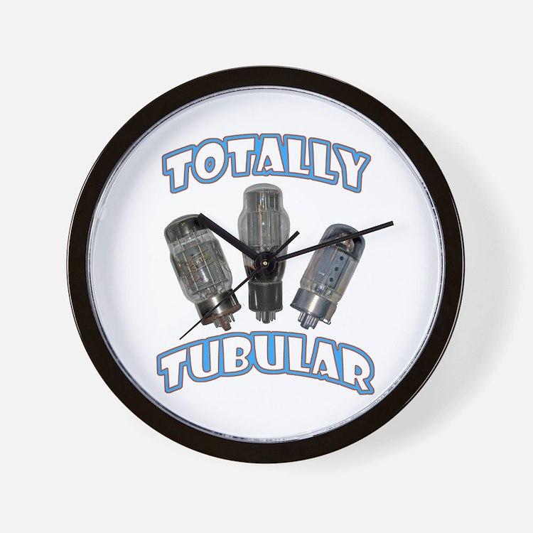 Totally Tubular Wall Clock