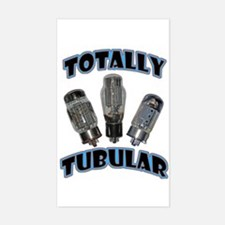Totally Tubular Rectangle Decal