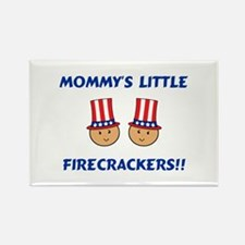 Mommy's Firecrackers Rectangle Magnet