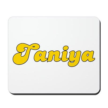 Retro Taniya (Gold) Mousepad
