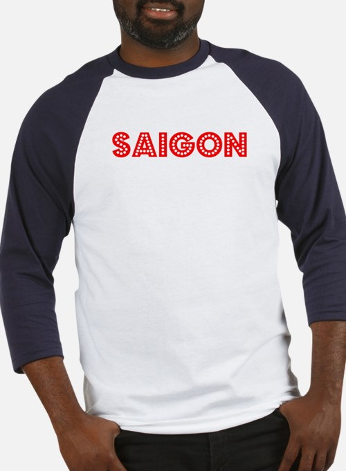 Retro Saigon (Red) Baseball Jersey