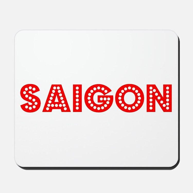Retro Saigon (Red) Mousepad