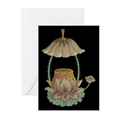 Chinese Blossoms Greeting Cards (Pk of 20)