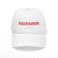 Retro Salvador (Red) Baseball Cap