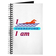 i swim therefore i am Journal