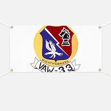 VAW 33 Knighthawks Banner