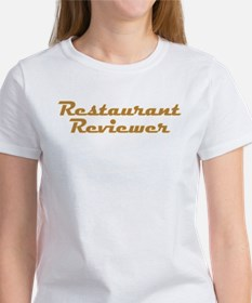 Restaurant Reviewer Tee