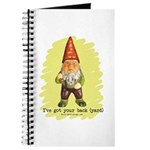 Gnome Got Your Back Journal