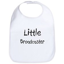 Little Broadcaster Bib