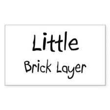 Little Brick Layer Rectangle Decal