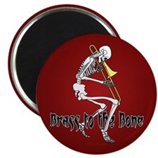 """Brass To The Bone 2.25"""" Magnet (10 pack)"""